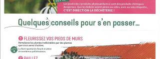 entretien sans pesticides au 1 er  Janvier 2019 et des conseils pour vos jardins