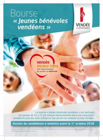 Bourse Jeunes bénévoles vendéens