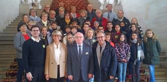 Conseil Municipal des Enfants au palais du Luxembourg